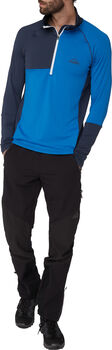 McKINLEY Vyla Langarmshirt Herren blau