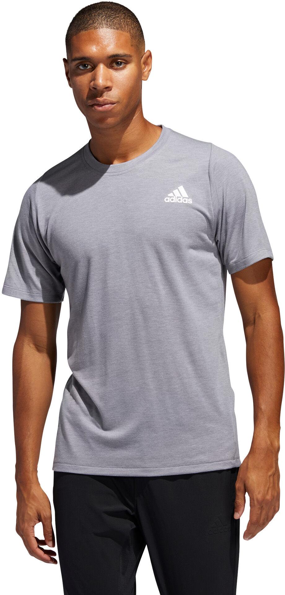 adidas FreeLift Sport Prime Heather T Shirt Schwarz