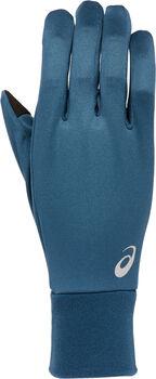 ASICS RUNNING PACK Laufmütze & Handschuhe blau