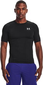 Under Armour Heat Gear Armour Kompressionsshirt schwarz