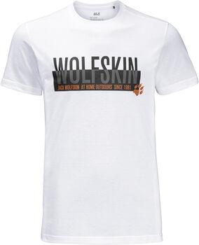 Jack Wolfskin Slogan T Herren weiß