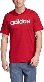 ADIDAS E Linear T-Shirt Herren rot
