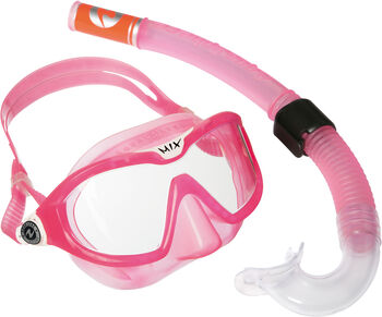 Aqua Lung Sport Combo Mix Schnorchelset pink