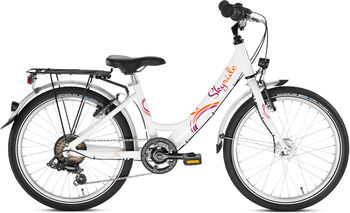 "PUKY Skyride 20-6 Alu Fahrrad 20"" weiß"