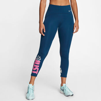 Nike Speed Icon Clash Tights Damen blau