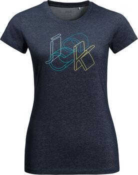 Jack Wolfskin Ocean T-Shirt Damen blau