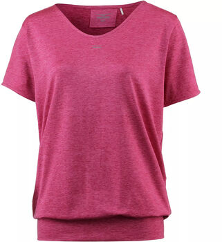 VENICE BEACH Curvy Fit Sui DMELH T-Shirt Damen rot