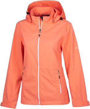 McKINLEY Everest Softshelljacke Wanderjacke Damen orange