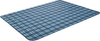 McKINLEY Rug Striped Picknickdecke blau