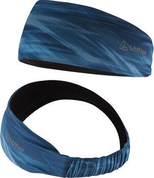 LÖFFLER Elastic Stirnband blau