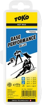TOKO Base Performance Alpinwax blau