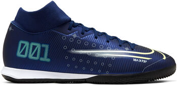 Nike Mercurial Superfly 7 Academy MDS IC Hallenfußballschuhe blau