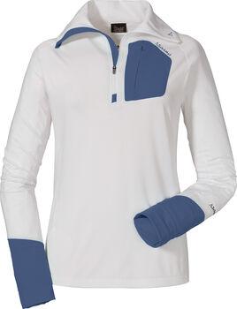SCHÖFFEL Annapolis Langarmshirt mit Halfzip Damen weiß