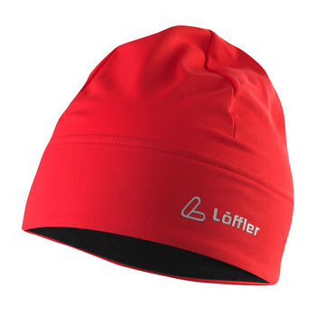 LÖFFLER Mono Mütze rot