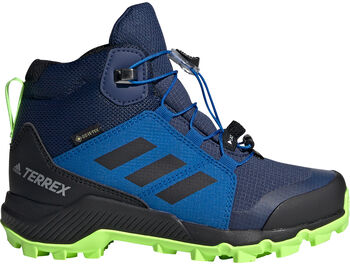 ADIDAS TERREX Mid GORE-TEX Wanderschuhe blau
