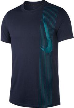 Nike  Dry Top SS Lv Shirt Herren blau