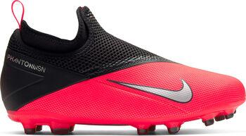 Nike Phantom VSN 2 Academy DF FG/MG Fußballschuhe Jungen rot