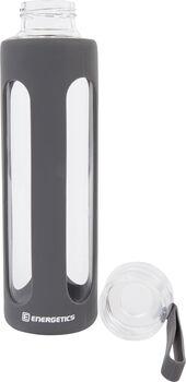 ENERGETICS Glass Bottle Trinkflasche grau