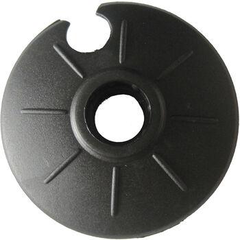 TECNOPRO Universal Teller 60 mm schwarz