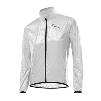 LÖFFLER Windshell Ultralight Bike-Jacke Damen weiß
