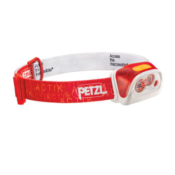 Petzl Actik Core Stirnlampe rot