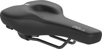 SQlab 602 M-D Active Fahrradsattel schwarz