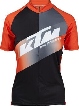 KTM Factory Team Lady Radtrikot Damen schwarz