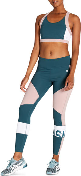 Color Block Cropped Tights