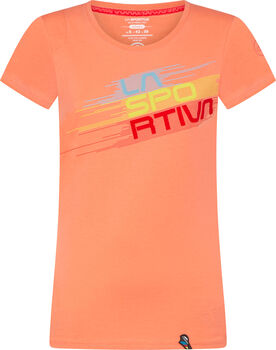 La Sportiva Stripe Evo T-Shirt Damen orange
