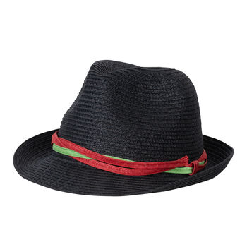 chillouts Trend Strandhut schwarz