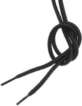 Tobby Outdoor Round Uni Schuhbänder schwarz