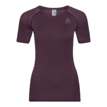 Odlo Performance Light BL TOP Crew neck Unterhemd Damen lila