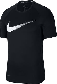 Nike Pro Graphic T-Shirt Herren schwarz