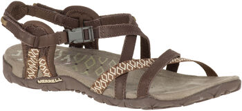 Merrell Terran Lattice II Outdoorsandale Damen braun