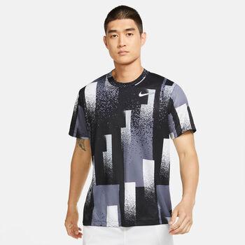 Nike Court Dri-Fit T-Shirt Herren schwarz