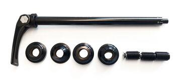 Hamax  Anhängerkupplungs-Adapter, für Räder mit 12mm schwarz