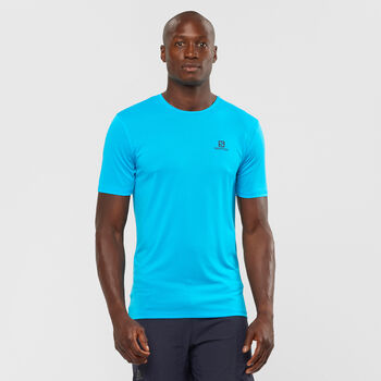 Salomon Agile Training T-Shirt Herren blau