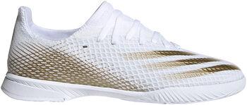 adidas X Ghosted.3 IN Fußballschuhe weiß
