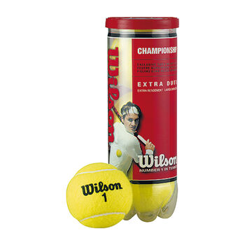 Wilson Championship 3-er Tennisbälle weiß