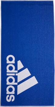 ADIDAS Handtuch L blau