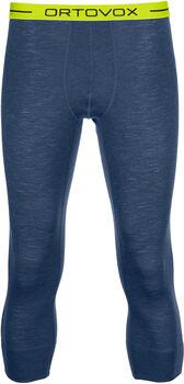 ORTOVOX  Merino Ultra 105 MHr. 3/4 Unterhose Herren blau