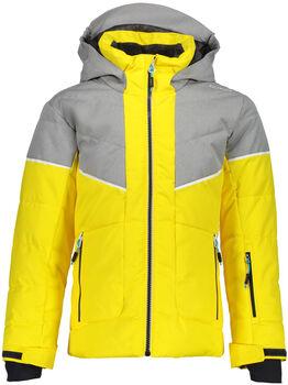 CMP Fix Hood Skijacke gelb