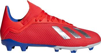 adidas X 18.3 FG J Fußballschuhe rot