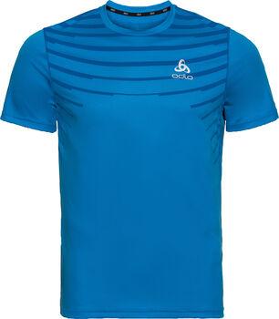 Odlo CERAMICOOL BASELAYER PRINT T-Shirt Herren blau