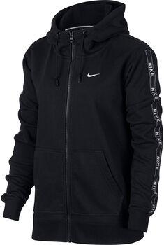 Nike Sportswear Full Zip Trainingsjacke mit Kapuze Damen schwarz
