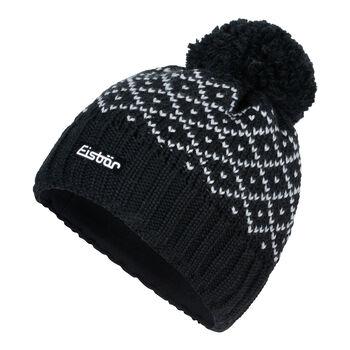 Eisbär Dilara Mütze Damen schwarz
