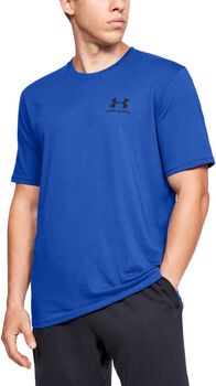 Under Armour Sportstyle Left Chest T-Shirt Herren blau