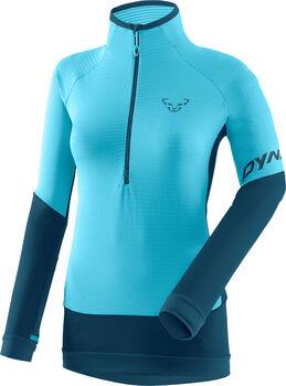 DYNAFIT Tlt Light Thermal Fleecesweater mit Zip Damen blau