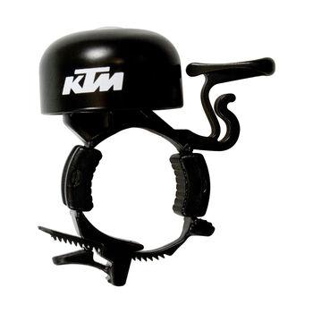 KTM Fahrradglocke Metall weiß