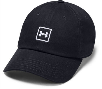 Under Armour Washed Cotton Kappe schwarz